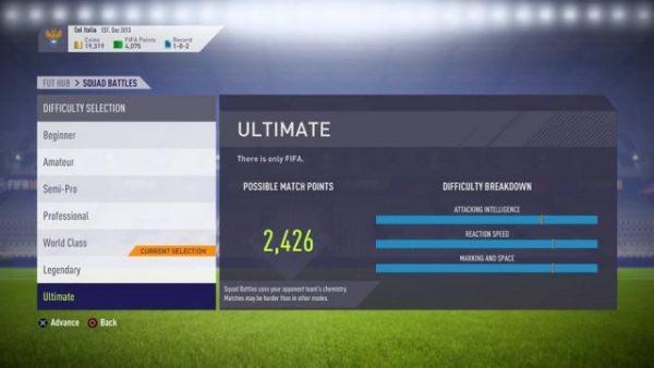 Squad Battles، قابلیت جدید فیفا 18