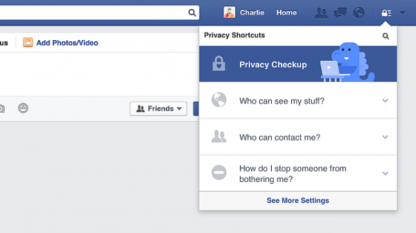 FacebookPrivacyCheckupPrivacyShortcuts