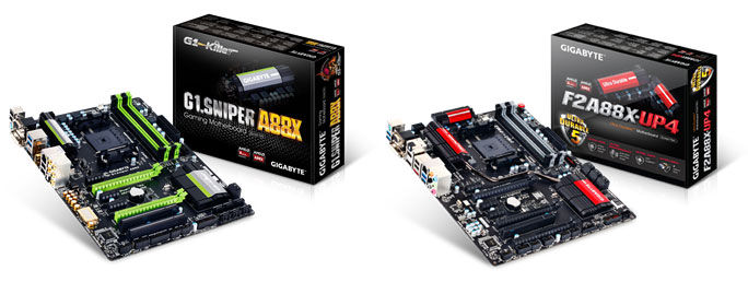 GIGABYTE MB A88X Series Kaveri Support