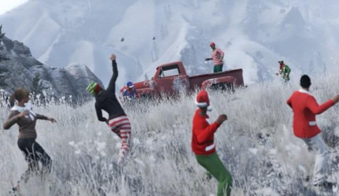 یک شانس بزرگ دیگر برای بازیکنان GTA V؛ کاربران برف می خواهند!