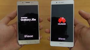 Samsung Galaxy J5 vs Huawei P9 Lite