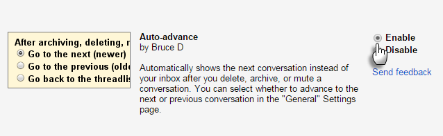 Gmail-Auto-Advance