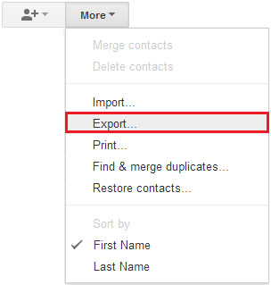 Gmail-Export-Contacts