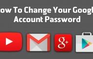 آموزش تغییر رمز جیمیل یا اکانت گوگل