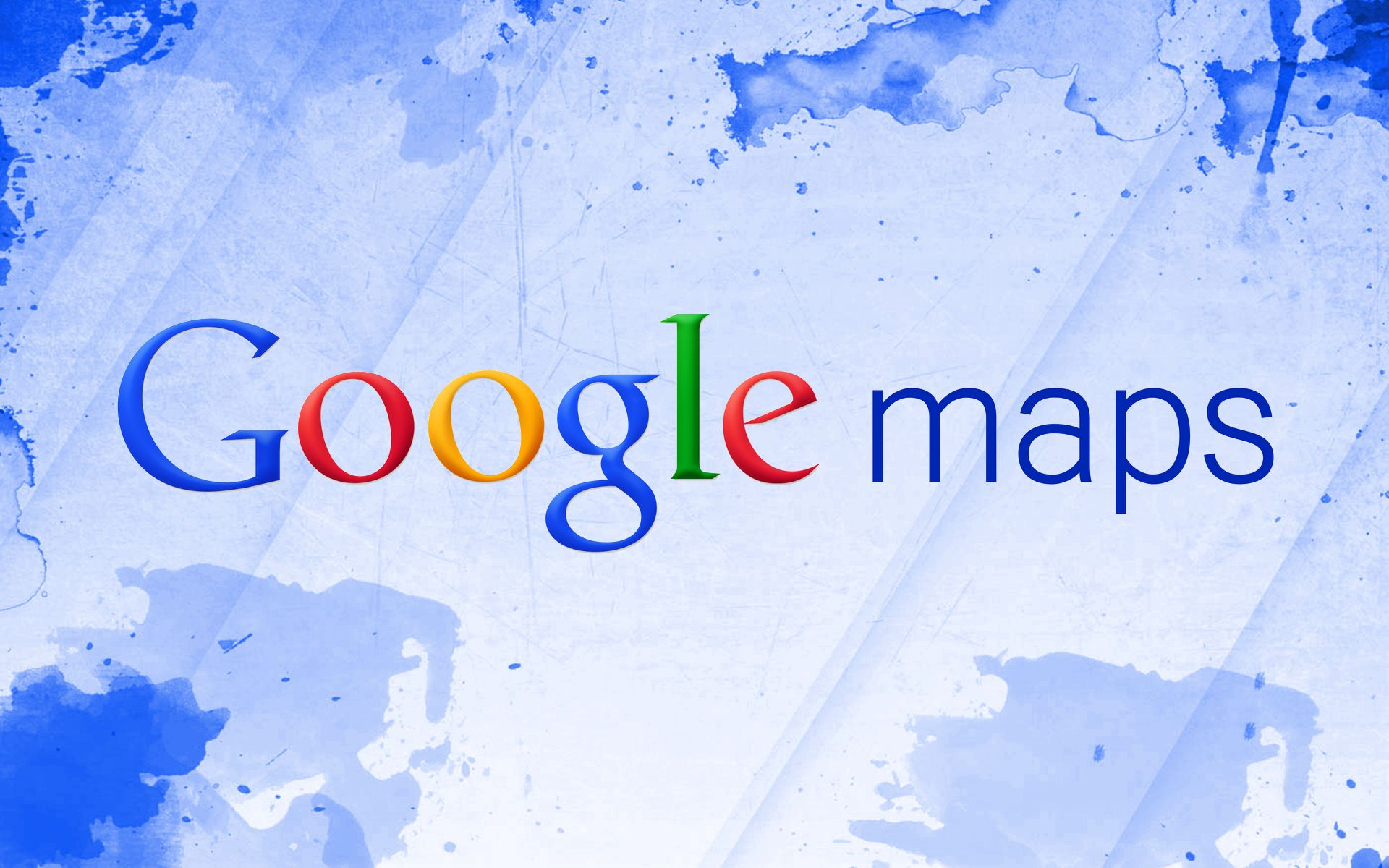 Google Maps Logo Wallpaper
