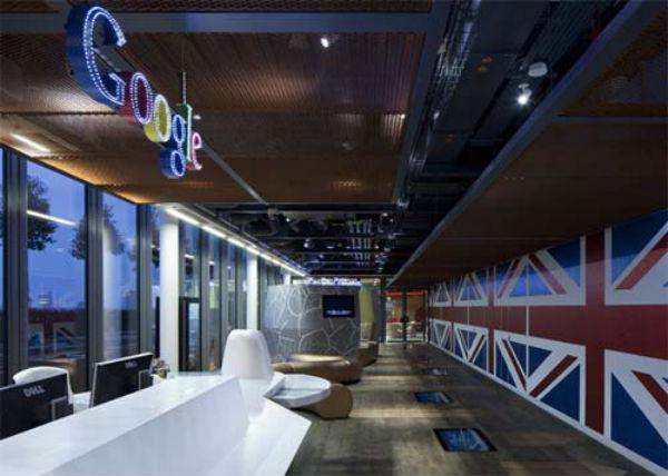 دفتر جدید گوگل در لندن (عکس)