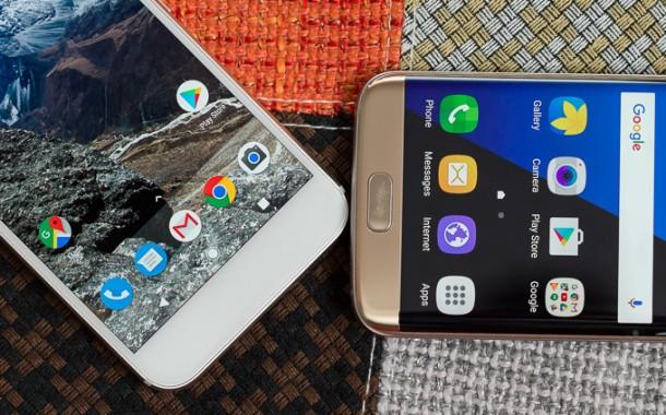 بررسی و مقایسه Google Pixel XL و Samsung Galaxy S7 Edge
