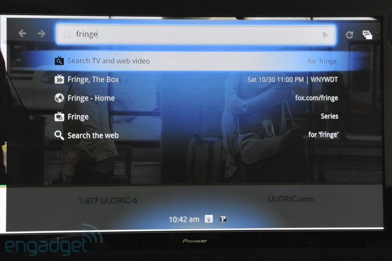 Google TV interface 05