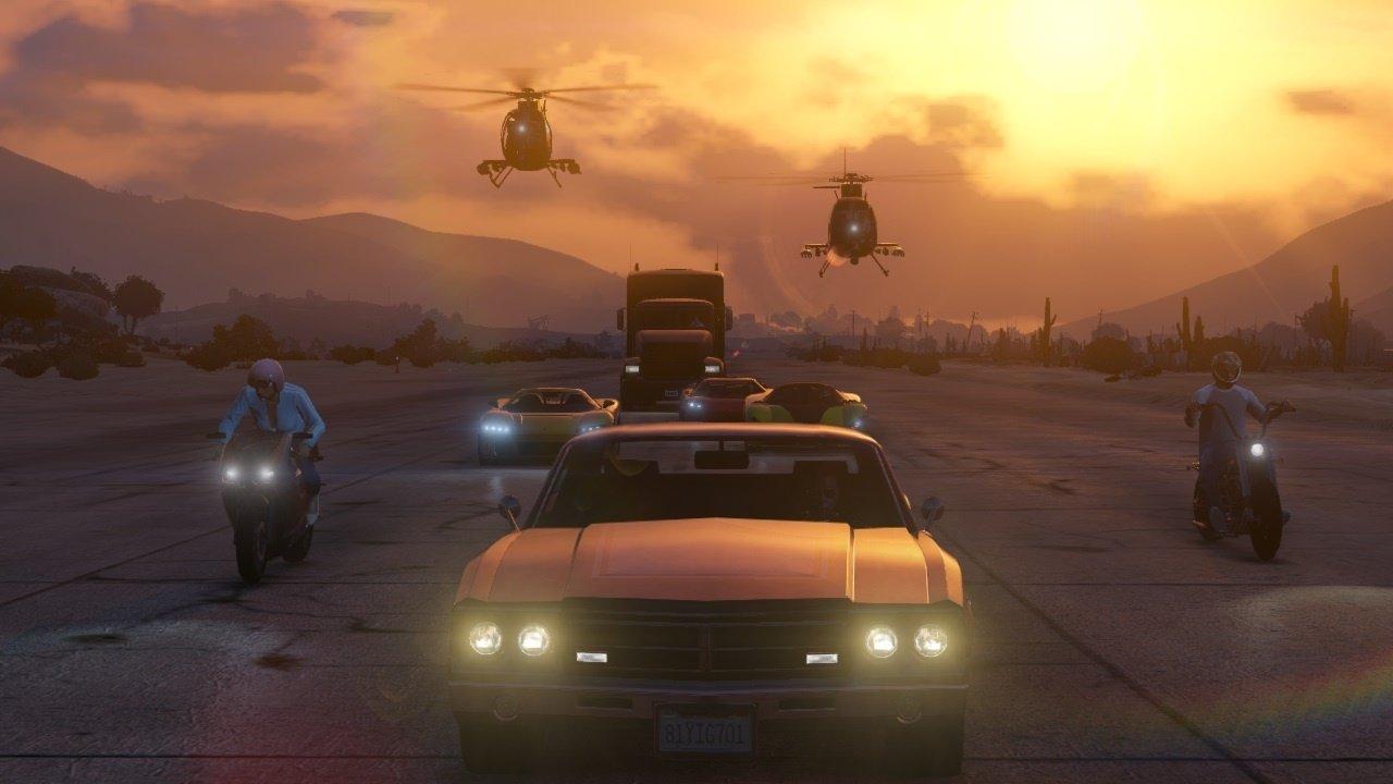 اولین تصاویر از نسخه آنلاین بازی GTA 5