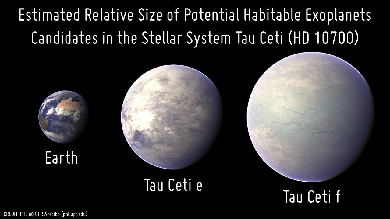 آیا Tau Ceti مشابه زمین است؟