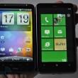 HTC HD7 versus Desire HD 45