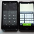 HTC HD7 versus Desire HD 8