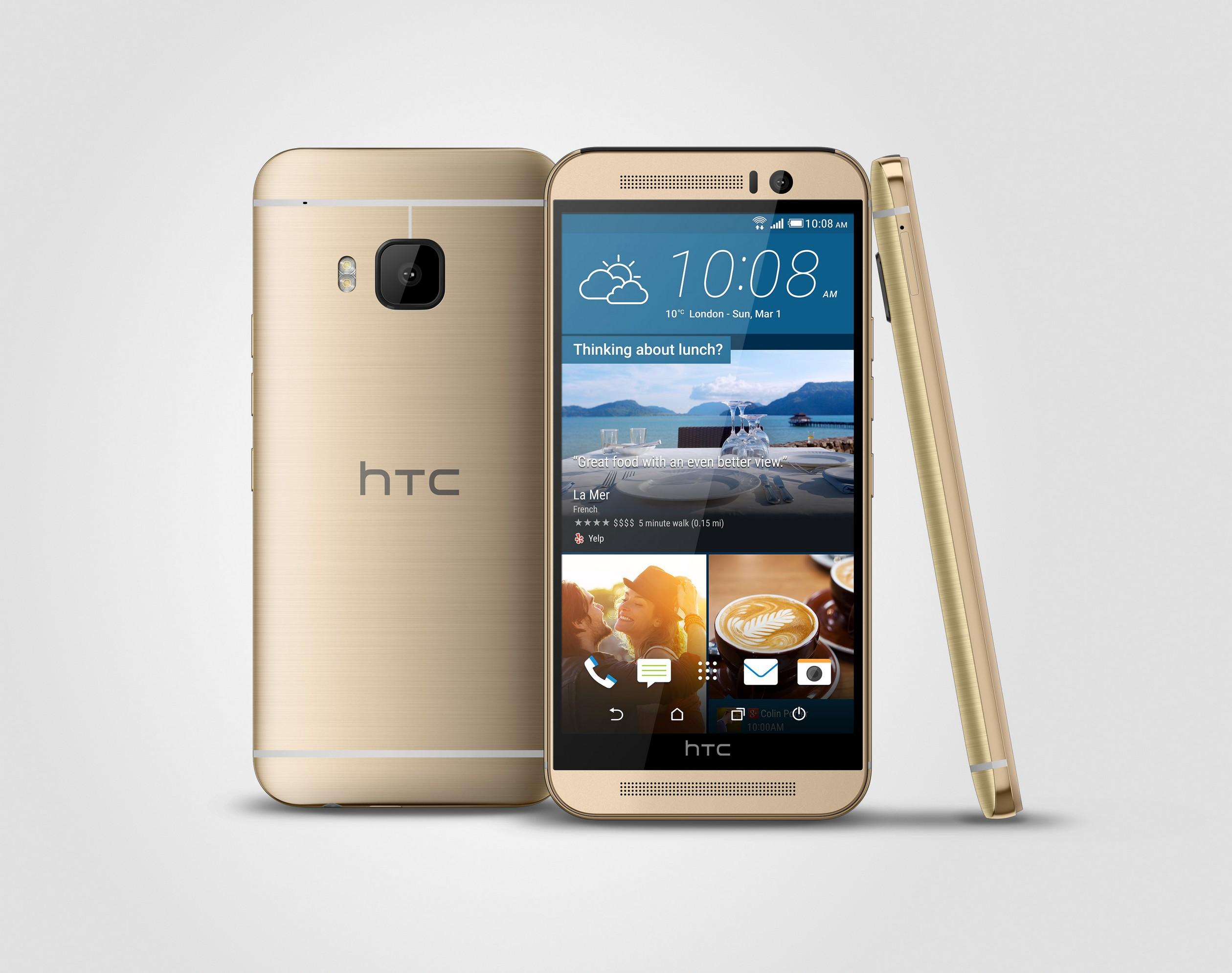 اسمارتفون HTC One M9 رونمایی شد: دوربین ۲۰ مگاپیکسلی، پردازندهی اسنپدراگون ۸۱۰ و نمایشگر ۵ اینچی