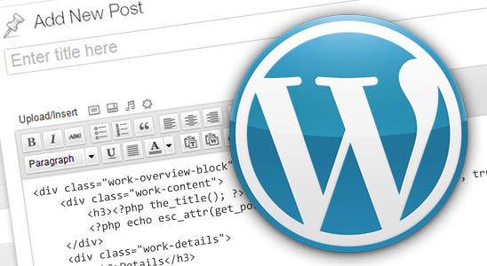 HTML-And-Wordpress