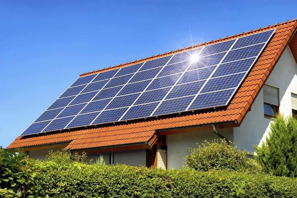 سیستم برق خورشیدی خانگی به همراه برآورد هزینه ی آن