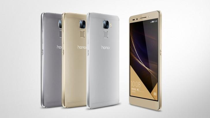 عرضه Huawei Honor 7 کمتر از ۲۰۰ یورو در انگلستان