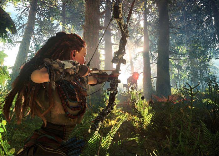 Horizon Zero Dawn برای پلی استیشن ۴ در توسط Guerrilla Games پرده برداری شد
