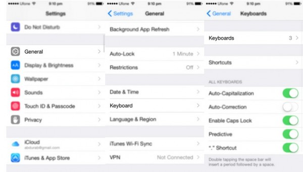 How To Add Remove Third-Party Keyboards In iOS 8