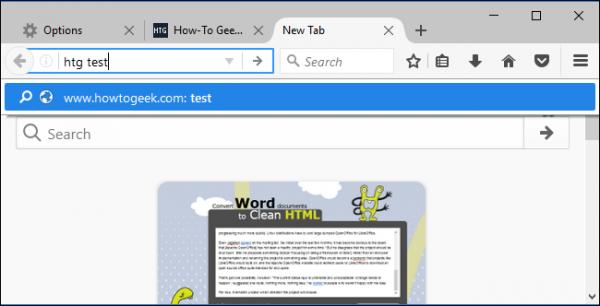 افزودن موتور جستجو به مرورگر