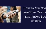 چگونه به Lock Screen در ۱۰ iOS یک یادداشت اضافه کنیم؟
