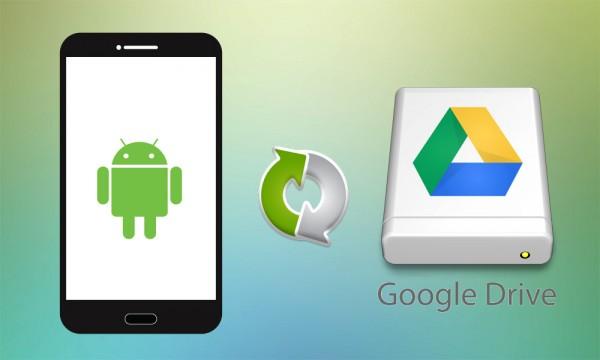 پشتیبان گیری از اندروید در Google Drive