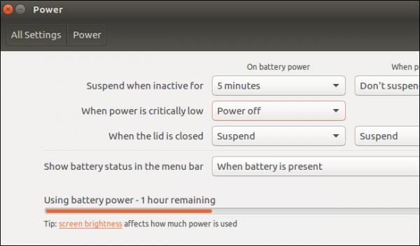 افزایش عمر باتری لپ تاپ لینوکس