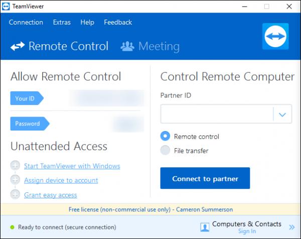 کنترل و مدیریت کامپیوتر با موبایل