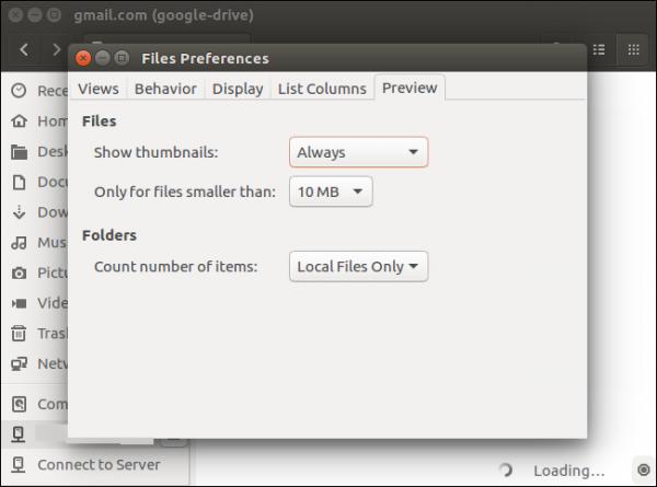 Google Drive در Linux