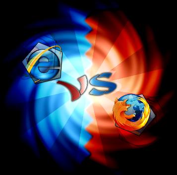 اینترنت اکسپلورر در مقابل فایرفاکس