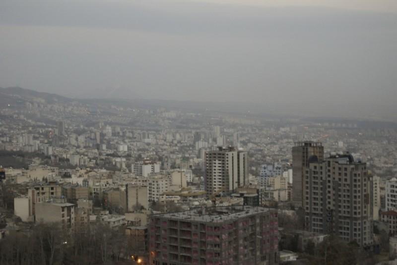مقدار رادیواکتیویته ی هوا در ایران اندازه گیری می شود