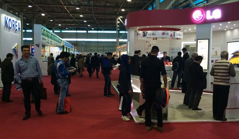 حضور LG در نمایشگاه اختصاصی کره جنوبی ۲۰۱۴ در تهران