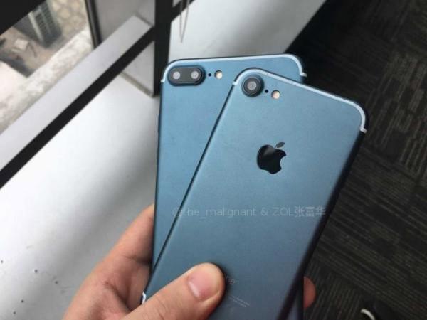 تصاویر آیفون ۷ با رنگ آبی و مشکی به بیرون درز کرد