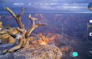 گوشی هوشمند ال جی جی ۴ در دستان یک عکاس حرفه ای