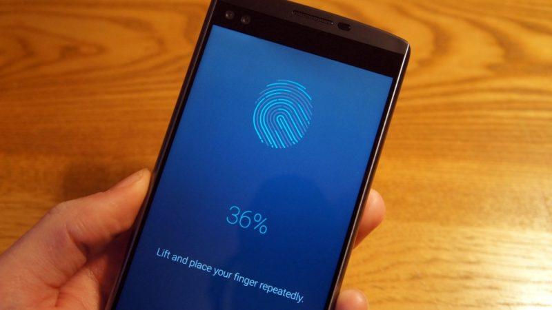 رویکرد جدید و متفاوت LG در بکارگیری سنسور اثر انگشت در اسمارت فون ها
