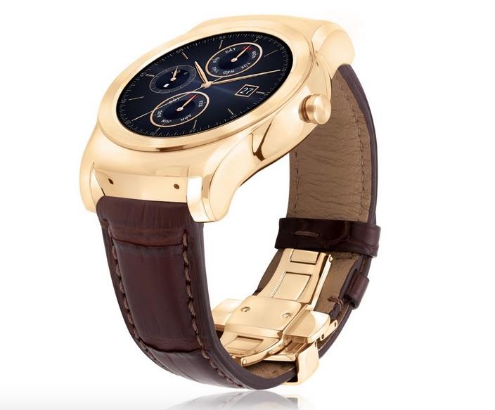 نسخه لوکس ساعت هوشمند Urbane ال جی با قابل طلایی و دسته چرمی به نمایش گذاشته شد