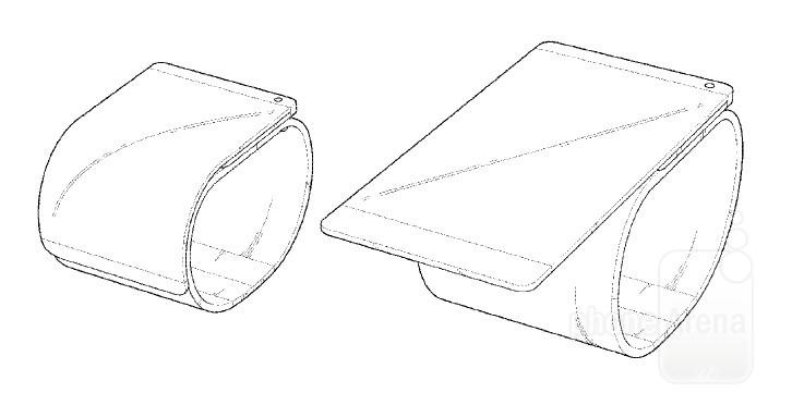 پتنت جدید LG ترسیم یک تلفن خمیده و قابل استفاده به عنوان دستبند را نشان می دهد