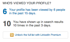 LinkedIn-Viewed Profile