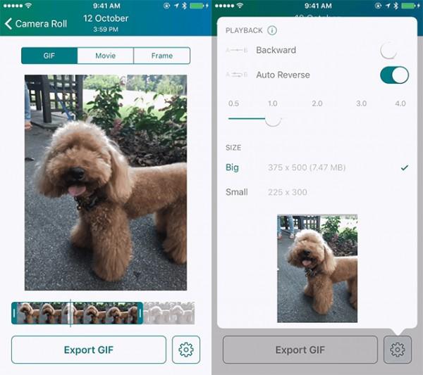 تبدیل عکس زنده به GIF در آیفون