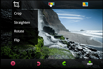 Menu Android TO Photoshop