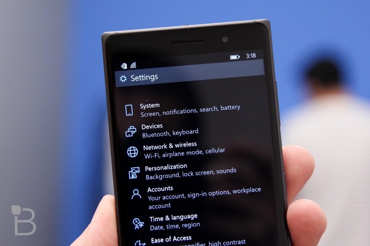 مایکروسافت لیست گوشی های هوشمند دریافت کننده ویندوز ۱۰ را منتشر کرد