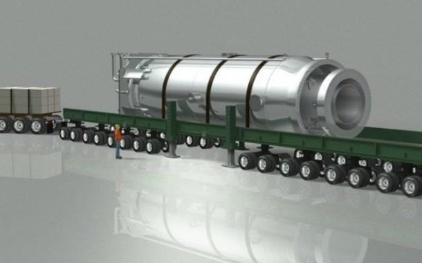 ساخت نیروگاه های هسته ای مینیاتوری قابل حمل با کامیون