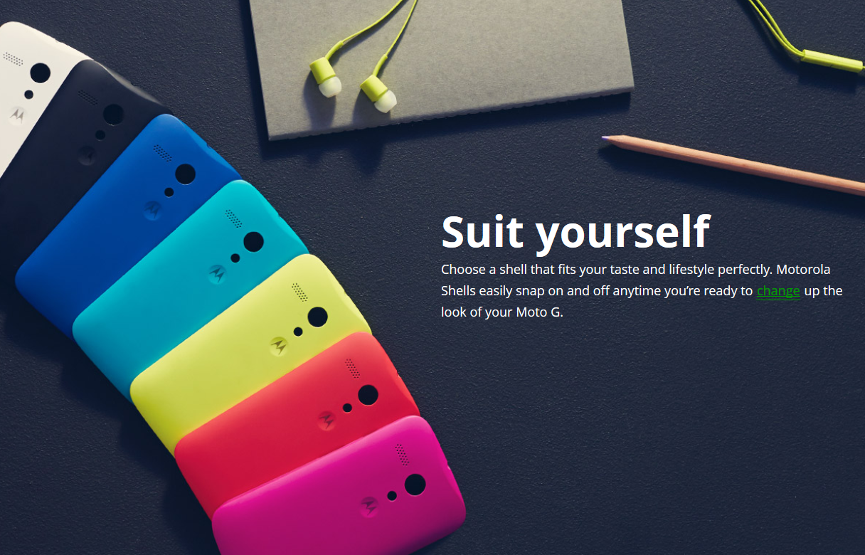 MOTO G  جدید اولین گوشی هوشمند ارزان قیمت قابل شخصی سازی خواهد بود