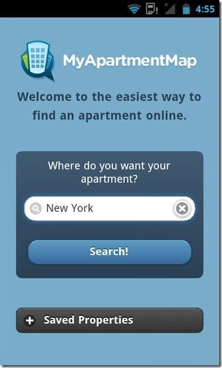 با MyApartmentMap : آپارتمان های مقرون به صرفه درون ایالات متحده را بیابید (برنامه ای برای اندروید و iOS)
