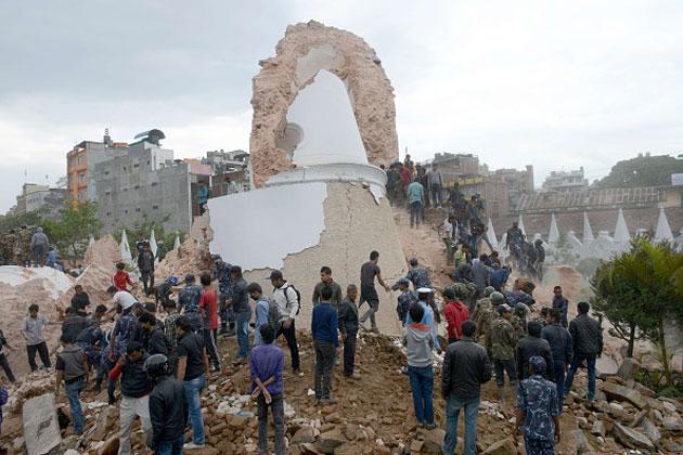 کمک گوگل و فیسبوک جهت نجات بازماندگان زلزله نپال