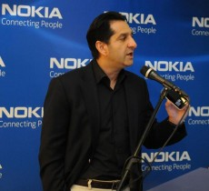 آقای فروهر فروتن، مدیر عامل نوکیای ایران
