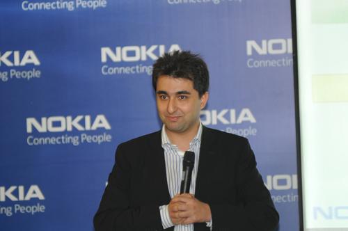 آقای وحید کاظمی، مدیر بازاریابی نوکیا در ایران
