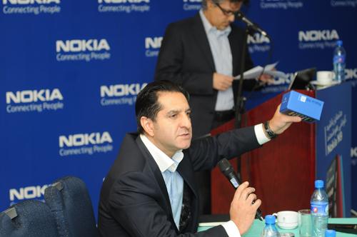 آقای فروهر فروتن، مدیر کل نوکیا در ایران