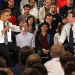 Obama Holds Facebook Town Hall 13