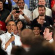 Obama Holds Facebook Town Hall 16