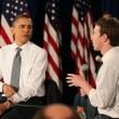 Obama Holds Facebook Town Hall 8